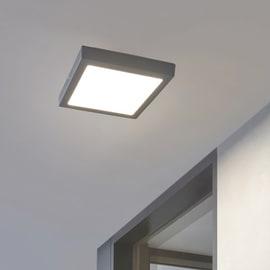 Plafoniera Argolis LED integrato in alluminio, nero, 22W 2600LM IP54 EGLO