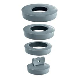 Tappo per lavello e lavabo in gomma Ø 58 mm