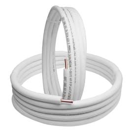 Tubo di rame in kit  1/4 +3/8 sp.1 mm 5 m