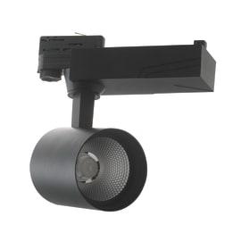 Proiettore Eagle per binario trifase nero LED integrato 10 W