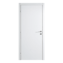 Porta a battente Clear bianco L 70 x H 210 cm reversibile