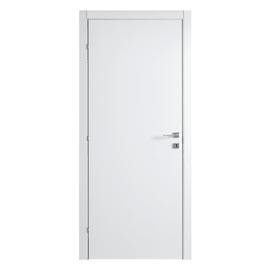 Porta a battente Clear bianco L 80 x H 210 cm reversibile