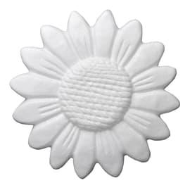 Rosone in polistirene Sunflower tattoo da parete 3d 14 x 14 cm