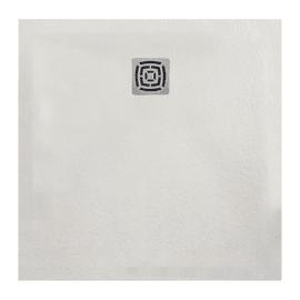 Piatto doccia resina Fusion 100 x 100 cm bianco