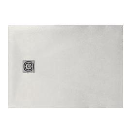 Piatto doccia resina Fusion 120 x 80 cm bianco