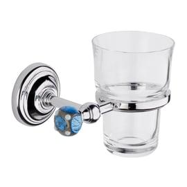 Bicchiere porta spazzolini Murano in vetro trasparente