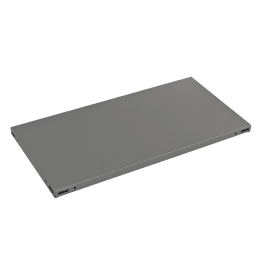 Ripiano in metallo L 100 x H 3 x P 30 cm grigio