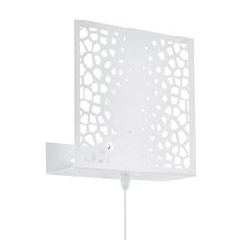 Applique Gallico bianco, in metallo, 22x22 cm, E27 MAX10W IP20 EGLO