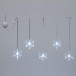 Tenda luminosa 360 lampadine led bianco H 40 x L 34 cm