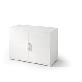 Armadio in kit in legno L 90 x P 45 x H 66 cm bianco