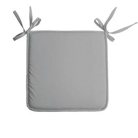 Cuscino per seduta Nelson grigio 38x38 cm