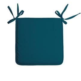 Cuscino per seduta Nelson blu 38x38 cm
