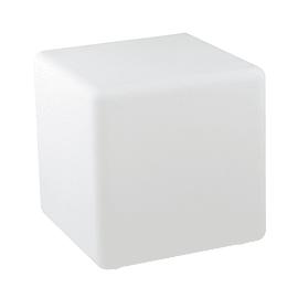 Lampada da esterno Cubo Geco H50cm, in plastica, LED integrato