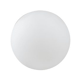 Lampada da esterno Sfera Geco H50cm, in plastica, luce rgb + bianco, LED integrato 240LM IP65
