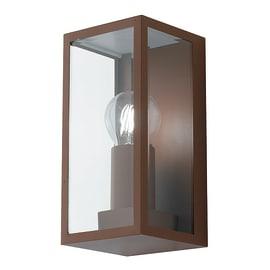 Applique per giardino MONDRIAN-BR in metallo, bronzo, E27 MAX60W IP44