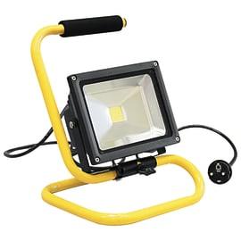Proiettore LED integrato ELIOS-P/20W in alluminio, nero, 20W 1600LM IP65