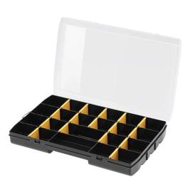 Contenitore per viti con cassetti STANLEY Organizer porta minuteria in polipropilene nero 17 scomparti
