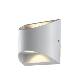 Applique Veyron LED integrato in alluminio, bianco, 14W 680LM IP54