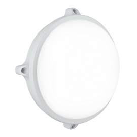 Plafoniera EVER-S BCO LED integrato in policarbonato, bianco e antracite, 15W 1200LM IP65