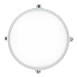 Plafoniera EVER-L BCO LED integrato in policarbonato, antracite e bianco, 20W 1600LM IP65