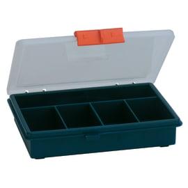 Valigetta in plastica blu 5 scomparti