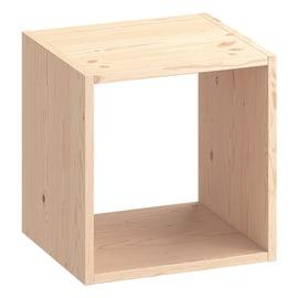 Scocca di armadio ripostiglio 1 cubo Kub SPACEO L 36 x H 36.1 x Sp 31.7 cm pino