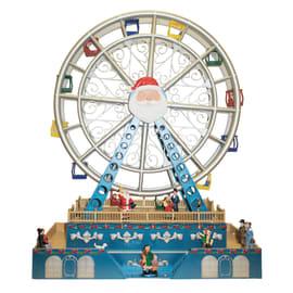 Villaggio di natale animato Luna Park