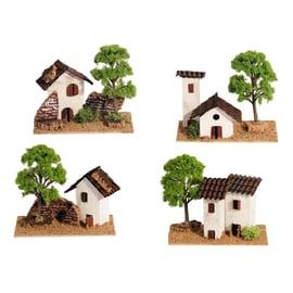 Casa assortita L 15 x H 13 cm