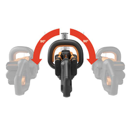 Tagliasiepi a batteria WORX 40 V