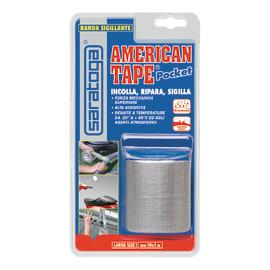 Nastro adesivo American Tape pocket 50 mm x 5 m grigio