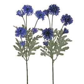 Fiore artificiale Fiordaliso H 80 cm