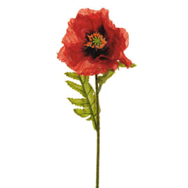 Fiore artificiale Papavero 56 Cm H 56 cm