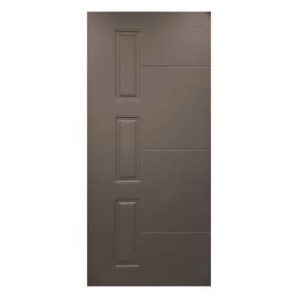 Pannello per porta blindata pellicolato grigio L 91 x H 209.5 cm, Sp 6 mm