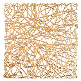 Tappeto per lavello plastica arancione L 30.5 x H 30.5 cm