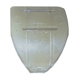 Anelli Ø20mm in plastica trasparente grezzo , 2 pezzi