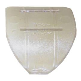 Anelli Ø28mm in plastica trasparente grezzo , 10 pezzi