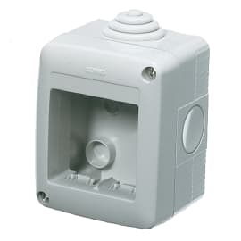 Scatola GEWGW27002 IP40 2 moduli