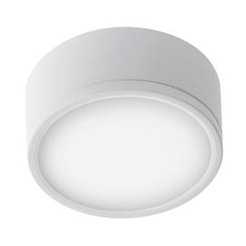 Plafoniera Klio bianco, in metallo, diam. 21, LED integrato 36W IP20
