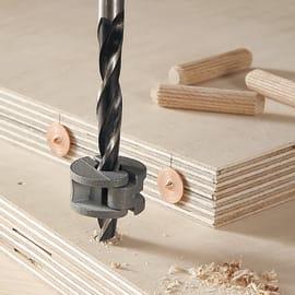 Set di spinatura WOLFCRAFT in legno Ø 8 mm