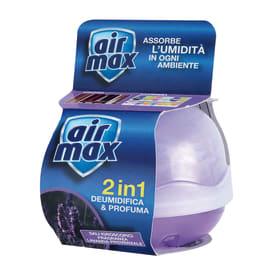 Kit assorbiumidità e sali Airmax lavanda 55 g