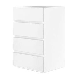 Cassettiera L 50 x P 49 x H 68.5 cm bianco