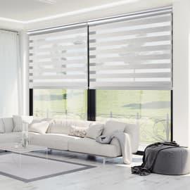 Tenda a rullo Platinum text grigio 100x250 cm