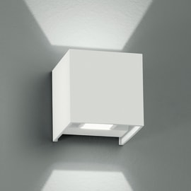 Applique ALFA/2W BCO LED integrato in alluminio, bianco, 4W 360LM IP54