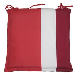 Cuscino per seduta Rigone bordeaux 40x40 cm