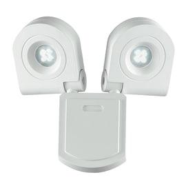 Proiettore LED integrato SHEDAR/20W in metallo, bianco, 20W 1440LM IP44