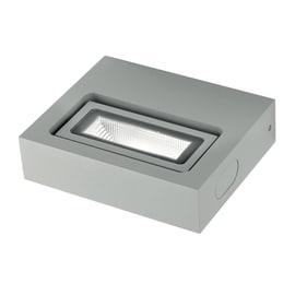 Applique BETA-AP1 LED integrato in alluminio, argento, 3W 250LM IP54