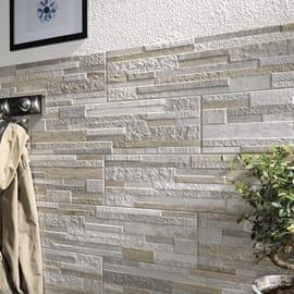 Rivestimento Muretto L 61.5 x H 17 cm marrone