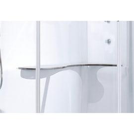 Sgabello Cayenne in plastica bianco