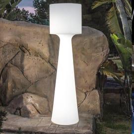 Lampada da giardino in piedi Grace H140cm, in plastica, T8 MAX18W IP65 NEWGARDEN