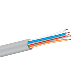Cavo telefonico LEXMAN   4 conduttori 5 m bianco